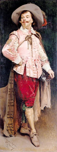"""madrazo raimundo constant coquelin l aine 1841 1909 as don cesar de bazan victor hugo ruy blas 1895 (from <a href=""""http://www.oldpainters.org/picture.php?/29552/category/13115""""></a>)"""