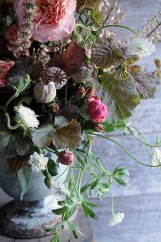 floral urn...