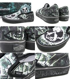 4e64a147c9 I want these Killswitch Engage Vans Shoes so much !  ) Killswitch Engage