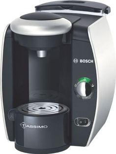 Enjoy sumptuous coffee courtesy of the Bosch Tassimo, looks like something out of Buck Rodgers