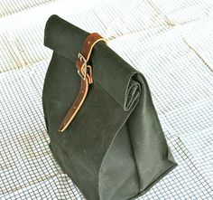 DIY LEATHER LUNCH BAG (2nd TUTORIAL…