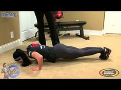Bodyweight Tabata-style Workout | FitnessRX for Women