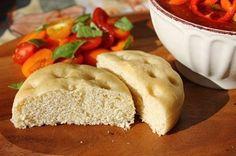 Vegan Spelt Focaccia Bread by Peachy Palate