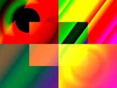 Gradient Play by Haystack Engineering  #art #illustration  #Geometric