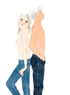 Sai Tamiya #illustration #イラストレーション #fashion