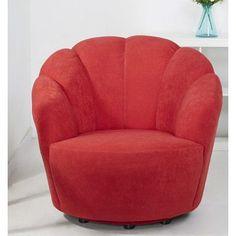 Gold Sparrow Newton Swivel Barrel Chair & Reviews | Wayfair