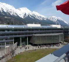 University of Innsbruck School of Manaagement Innsbruck, Mount Everest, Train, Mountains, Nature, School, Business Management, Life, Naturaleza