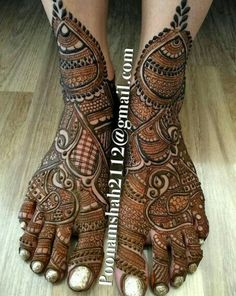 Browse thousands of Mehendi Design Image on Happy Shappy. You can save photos view images and more like designs for hands, feet, backhand and more. Leg Mehendi Design, Leg Mehndi, Mehndi Designs Feet, Indian Mehndi Designs, Mehndi Design Pictures, Mehndi Designs For Girls, Stylish Mehndi Designs, Mehndi Images, Henna Mehndi