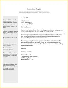 Cover Letter Full Block Style Format Example Free Downloadg About