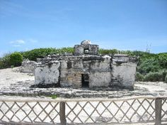 Parque Punta Sur: Ruins of Mayan early hurricane warning system