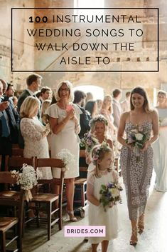 Looking for instrumental wedding songs? Find gorgeous stripped-down versions (in every genre) among our favorite instrumental songs to walk down the aisle to! Wedding Aisle Songs, Christian Wedding Songs, Wedding Love Songs, Wedding Song List, Wedding Ceremony Music, Wedding Playlist, Cute Wedding Ideas, Wedding Night, Wedding Photos