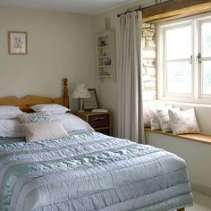 Spare bedroom | 1850s Gloucestershire cottage | House tour | PHOTO GALLERY | Style at Home | Housetohome.co.uk