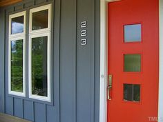 mid century modern exterior paint colors | MID CENTURY MODERN PAINT COLORS