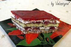 "Пляцок ""Вишнева кора"" Hungarian Cake, Traditional Cakes, Homemade Cakes, Tiramisu, Recipies, Cooking Recipes, Sweets, Baking, Ethnic Recipes"