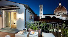El Hotel Brunelleschi se encuentra en una torre bizantina y una iglesia medieval retauradas con vistas a la catedral de Florencia, y ofrece habitaciones...