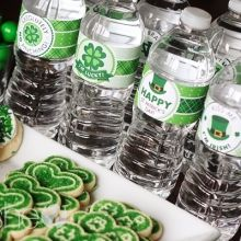 St Patrick's Day Printables St Patrick's Day Peppermint Patty Favor Free sweet Printables ishareprintables.com  #freeprintables #stpatricksday #ishareprintables