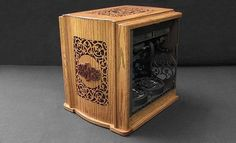 """Steampunk"" looking pc tower case"