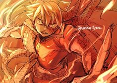 Is it hot in here or is it just Natsu?
