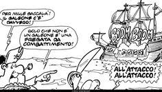 """CAPITAN POSAPIANO UN SIMPATICO E DIVERTENTE TRIO DI PIRATI PUBBLICATO DAL 1969 SUL PERIODICO """"CUCCIOLO"""" DELLE EDIZIONI ALPE."""