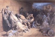 The Martyrdom of the Holy Innocents  Gustave Dore