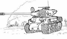 Sherman Tank Coloring Page From Tanks Category Select 27260 Printable Crafts Of Cartoons Nature Animals Bible And Many More