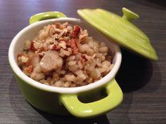 Orzotto ai Funghi e Noci Pecan con Magic Cooker