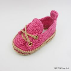 Baby shoes, Crochet shoes for babies, Baby sneakers, Crochet baby shoes, Pink baby shoes, Crochet baby booties by BUBUCrochet on Etsy
