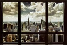 New York Window poster