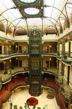 Art Nouveau, Gran Hotel Ciudad de México