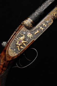 The james Purdey & Son bicentenary rifle.