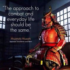 """When it comes to being prepared - """"The approach to combat and everyday life should be the same."""""""