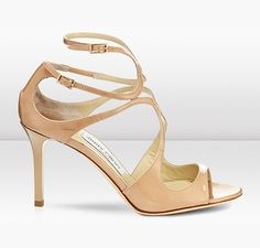 Jimmy Choo | Ivette | Patent Leather Sandals