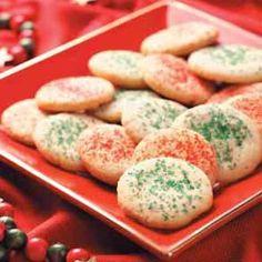 Cinnamon Sugar Cookies from Taste of Home