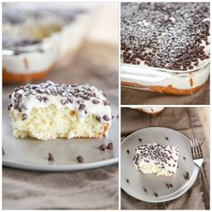 Cannoli Cake With Cannoli Cream Frosting