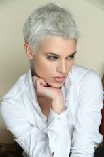 beautiful women with gray hair - Google Search