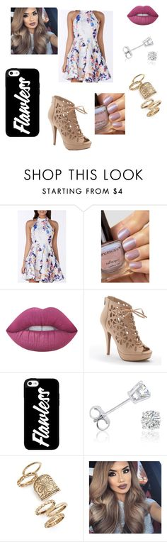 """Untitled #10"" by gabriellecute ❤ liked on Polyvore featuring Lime Crime, Apt. 9, Amanda Rose Collection and Topshop"