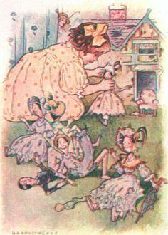 Sweet Dollhouses, Dollshouse Illustrations, Child Illustration, Dollhouse Illustrations, Art Dollhouse, Childrens Books, Illustrations Houses, Godden ...