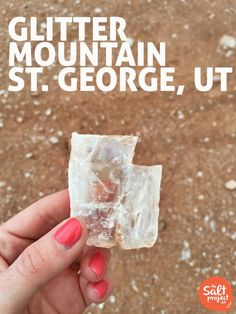 Glitter Mountain | St. George | Roadtrippin' | The Salt Project | Things to do in Utah with kids