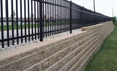 20 best safety fence above retaining wall images on modern fence ideas highlighting your house with most shared privacy fence designs id=84045