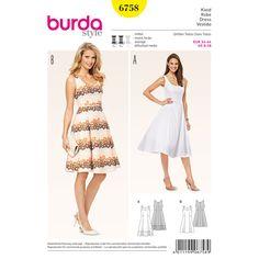 Kleid, Burda 6758