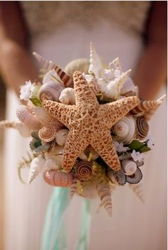 DIY Beach Wedding Inspiration Ideas I got married on a beach in Mexico on valentines day at sunset. My bouquet has silk tropical looking flowers, every security person tried to stop me in the airport because they looked real.