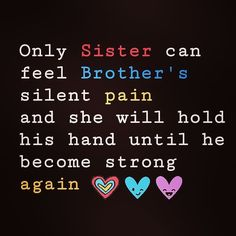 holding his hand untill he gets alright.lobe you puttuu Sister Bond Quotes, Brother Sister Relationship Quotes, Love My Brother Quotes, Brother Sister Love Quotes, Sister Quotes Funny, Brother And Sister Love, Birthday Quotes For Brother, Bro Quotes, Little Boy Quotes