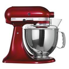 """KitchenAid ARTISAN - Design Klassiker unter den Küchenmaschinen. Zeitlosen Design seit über 6ß Jahren in einem extrem hochwertigen und langlebigen Produkt. Die authentische  """"Küchenhilfe"""" für stilvolle Köche."""