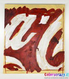 Coca Cola Schifano, dipinto su tela, Acquista su www.colorscrazy.it