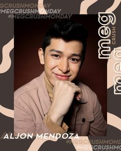 A star on the rise, Aljon Mendoza, is showing that he is another heartthrob that Filipino fans will be falling in love with. Ylona Garcia, Ideal Girl, Shy Guy, Social Anxiety, Drama Series, Mendoza, Get The Job, Filipino, Celebrity Crush