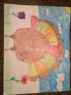 Made by Lindsey , 7 years old, Artist Of The Day on 11/26/2013 • Art My Kid Made