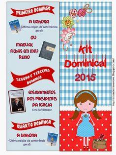 As Tontas Vão Ao Céu: Marcador de Página - Kit Dominical (Sociedade de S...