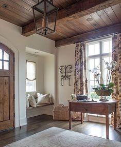 Cool 25 French Country Decor For Your Home decoratio.co/… The kitchen is an easy, efficient design opening on a breakfast room. It is located on the lake side of the home. If it involves modern kitchens, quantity is important