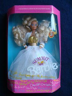 1990 Summit Barbie #7027