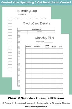 simple finance planner